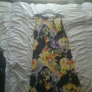 Long form fitting dress